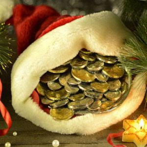 Новогодние приметы и монеты