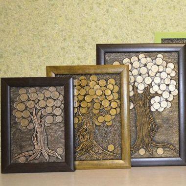 Мастер-класс по изготовлению панно «Денежное дерево»!