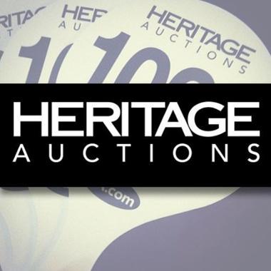 К нам едет Heritage Auctions!